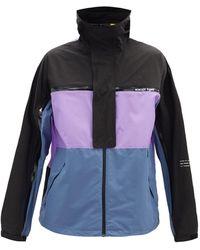 7 MONCLER FRAGMENT Warren Stowaway Windbreaker Jacket - Purple