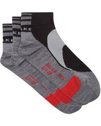 FALKE Set Of Three Bc5 Biking Socks - Black