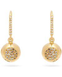 Aurelie Bidermann Aurélie Bidermann Fine Jewellery ダイヤモンド&18kゴールド ピアス - メタリック