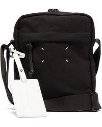 Maison Margiela Four-stitches Canvas Cross-body Bag - Black