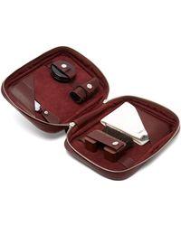 John Lobb - Shoe Care Leather Travel Case - Lyst