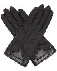 Prada - Nylon Gloves - Lyst