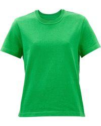 Bottega Veneta サンライズ コットンtシャツ - グリーン