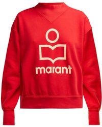 Étoile Isabel Marant - Moby Printed Cotton Sweatshirt - Lyst