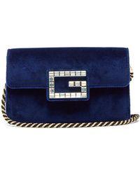 Gucci - Broadway Mini Velvet Bag - Lyst