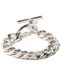 Martine Ali Tori Cuban-chain Bracelet - Metallic