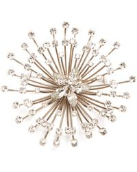 Balenciaga Spike Cristobal Brooch - Metallic