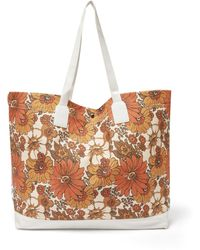 Dodo Bar Or Litta Floral-print Canvas Tote Bag - Multicolor