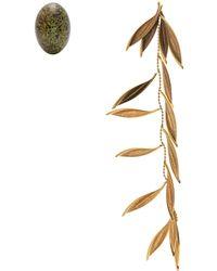Jacquemus - Boucles d'oreilles dépareillées L'Olive - Lyst