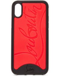 Christian Louboutin Loubiphone Rubber Iphone® X/xs Case - Red