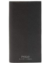 Polo Ralph Lauren - Grained Leather Continental Wallet - Lyst