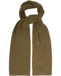 Allude - Knitted Cashmere Scarf - Lyst