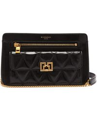 Givenchy - Pocket Leather Cross Body Bag - Lyst