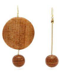Rosantica By Michela Panero - - Passato Circle Hoop Earrings - Womens - Gold - Lyst