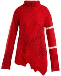 Preen Line - Serenity Flared Sweater - Lyst