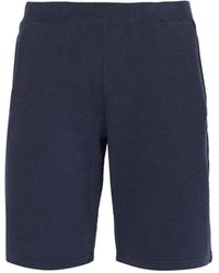 Sunspel - Mid-rise Cotton-jersey Shorts - Lyst