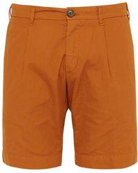 J.W. Brine - Brody Checked Cotton Shorts - Lyst