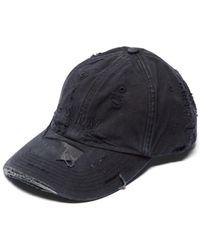 67e915452c6936 Vetements Friday Cap in Black - Lyst
