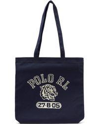 Polo Ralph Lauren - Logo Print Tote - Lyst