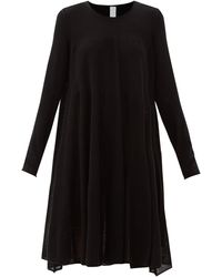 Merlette アディソン コットンブレンドニットドレス - ブラック