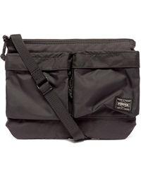 Porter フォース メッセンジャーバッグ - ブラック