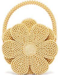 Shrimps - Buttercup Faux Pearl Embellished Bag - Lyst
