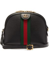 Gucci Ophidia Small Shoulder Bag - Black