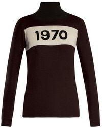 Bella Freud - 1970 Wool Roll Neck Jumper - Lyst