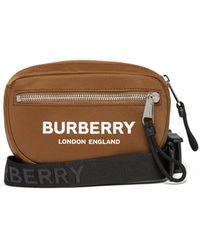 Burberry Logo-print Belt Bag - Multicolor