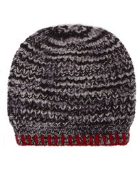 The Elder Statesman - Mushroom Cashmere Beanie Hat - Lyst