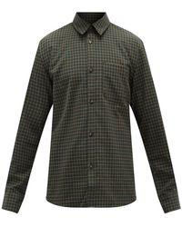 A.P.C. - トレック チェック コットンツイルシャツ - Lyst