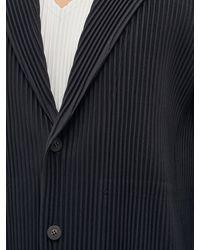 Homme Plissé Issey Miyake Technical-pleated Suit Jacket - Black
