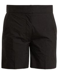 JOSEPH - Windsor Creased-effect Cotton-blend Shorts - Lyst