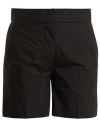 JOSEPH - Windsor Creased-effect Cotton-blend Shorts - Lyst