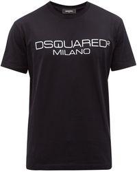 DSquared² コットンtシャツ - ブラック