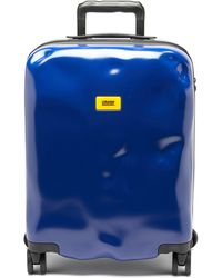 Crash Baggage アイコン キャビンスーツケース 55cm - ブルー