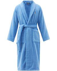 Polo Ralph Lauren コットンテリーバスローブ - ブルー