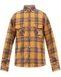 BBCICECREAM ブラッシュドフランネル チェックシャツ - マルチカラー