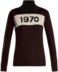 Bella Freud - 1970 Wool Roll Neck Sweater - Lyst