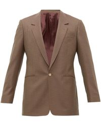 E. Tautz - Single Breasted Wool Blazer - Lyst
