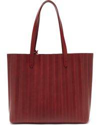 Mansur Gavriel - Pleated Leather Tote Bag - Lyst