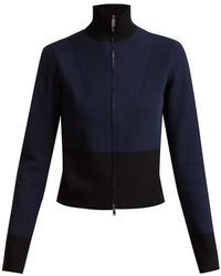 Colville - Long Sleeved Panelled Back Sweater - Lyst