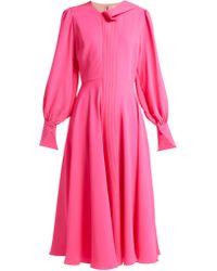 ROKSANDA - Adyn Silk Georgette Midi Dress - Lyst