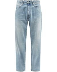 Kuro Anders High-rise Wide-leg Jeans - Blue