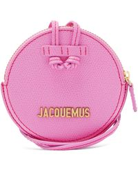"""Jacquemus Porte-Monnaie En Cuir """"Le Pitchou"""" - Rose"""