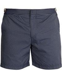Orlebar Brown - Bulldog X Striped Swim Shorts - Lyst