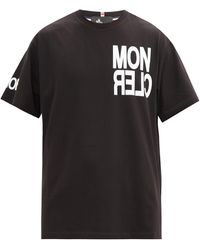 3 MONCLER GRENOBLE - ロゴ コットンtシャツ - Lyst