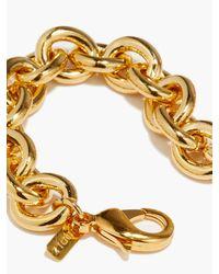 Joolz by Martha Calvo Bianca 14kt Gold-plated Chain-link Bracelet - Metallic