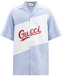 Gucci - コットンポプリンシャツ - Lyst