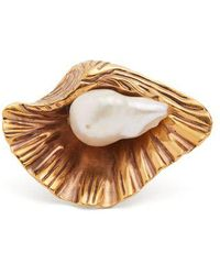 Sonia Rykiel - Venus Pearl-embellished Ring - Lyst